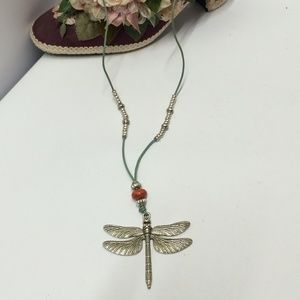El Arcon Dragonfly Statement Necklace